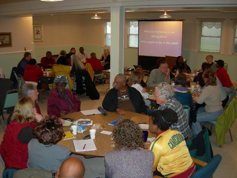 Workshop participants in Oregon