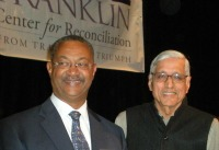 Rajmohan Gandhi and John W Franklin