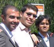 Khalil with other Caux Scholars