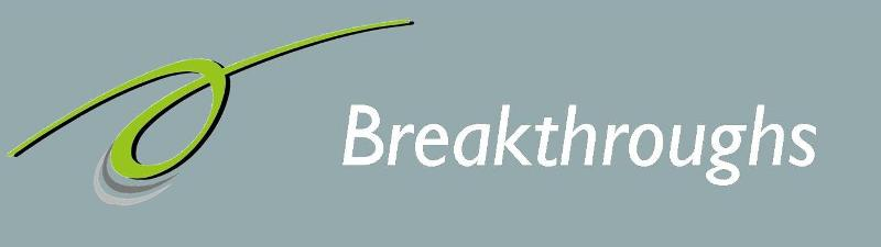 Breakthroughs banner