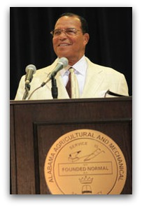 Minister Farrakhan at Alabama A&M Univ.