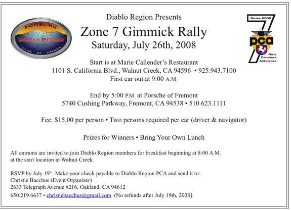 Zone 7 rally