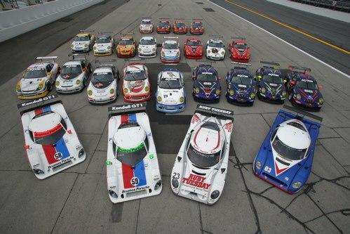 group Porsches