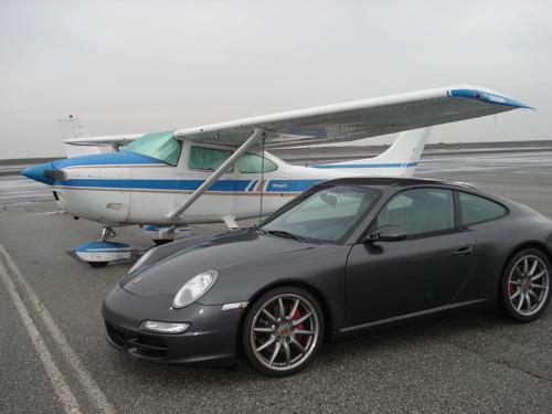 car plane