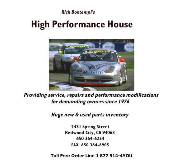 High Performance House