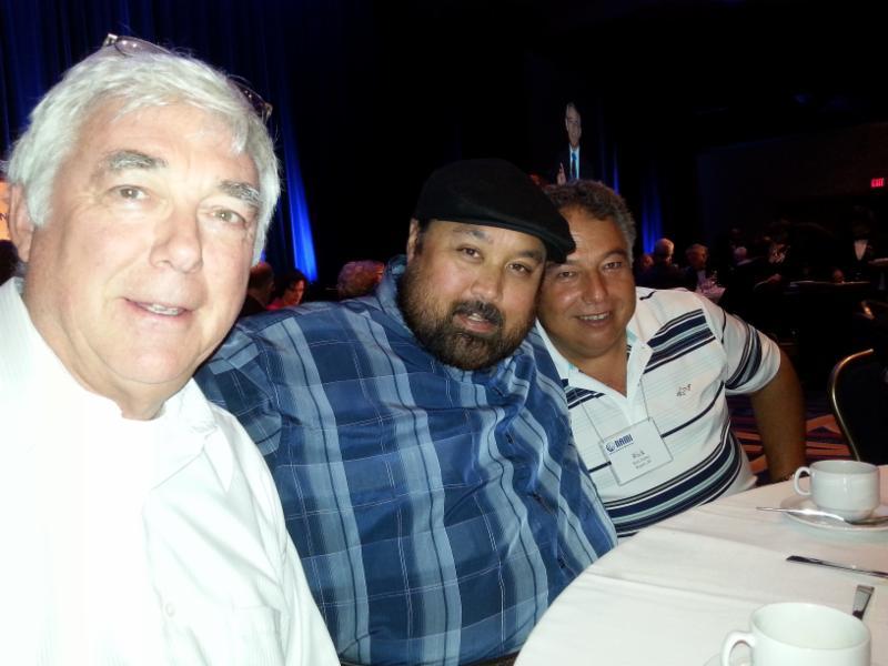 Tom, Jeremy, and Rick Huber