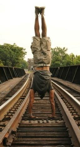 J handstand