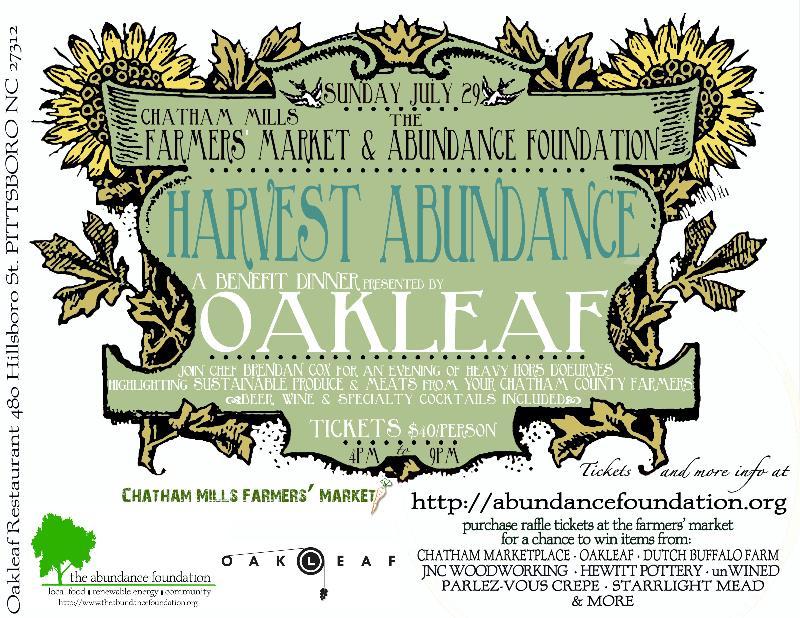 harvest abundance