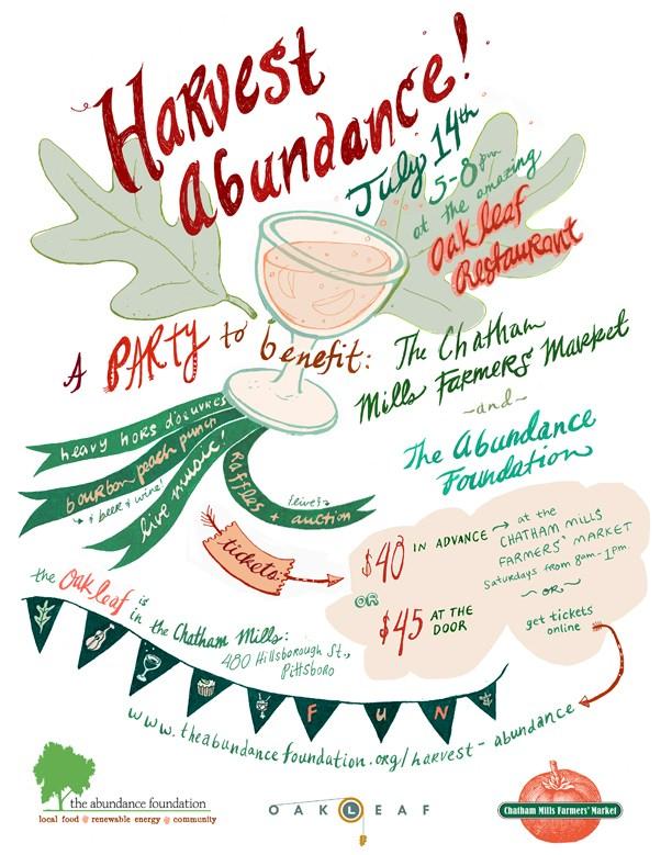 harvest abundance 2013