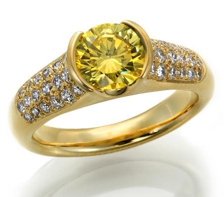 yellow diamond nadia