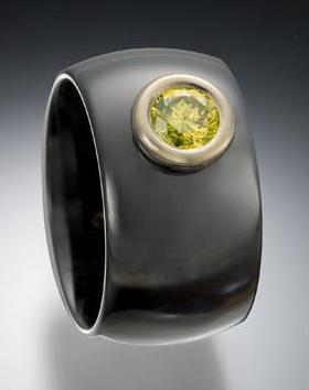 cut canary bezel ceramic gabriner