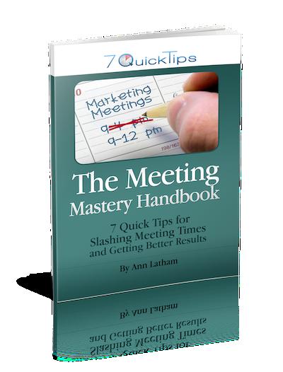 The Meeting Mastery Handbook by Ann Latham