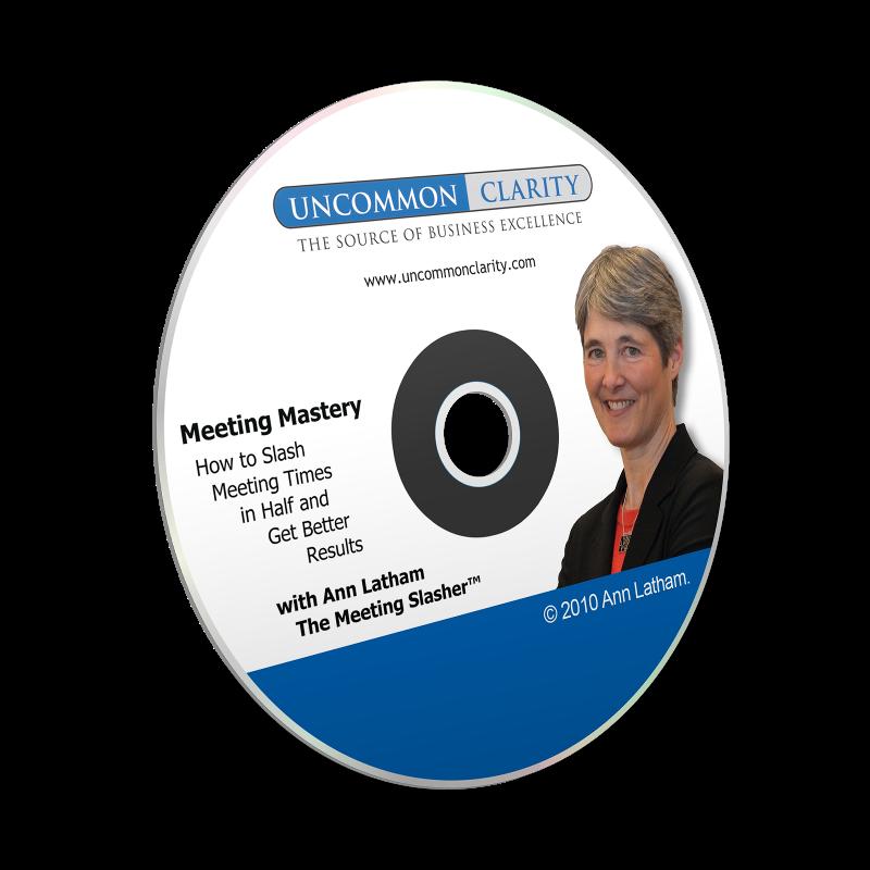 Meeting Mastery by Ann Latham