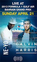 Live At 2013 Formula One - Ne-Yo and Calvin Harris