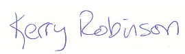 Kerry's Signature