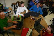 Nashwaaksis Middle School laptops
