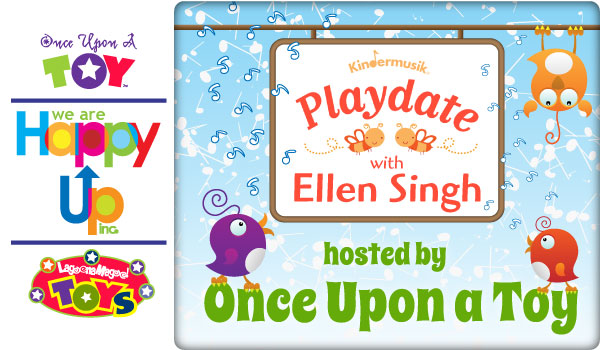 Once Upon a Toy presents Kindermusik Playdates