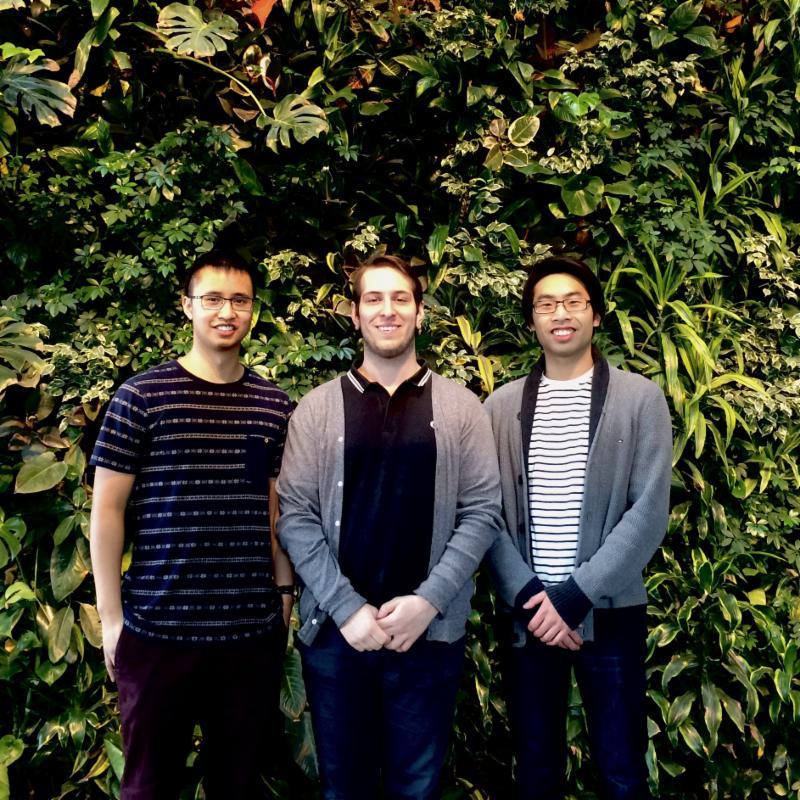 UO SPS team: John, Alex, Andrew