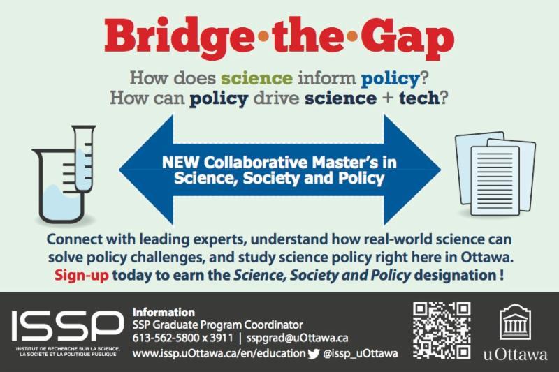 Bridge the Gap postcard