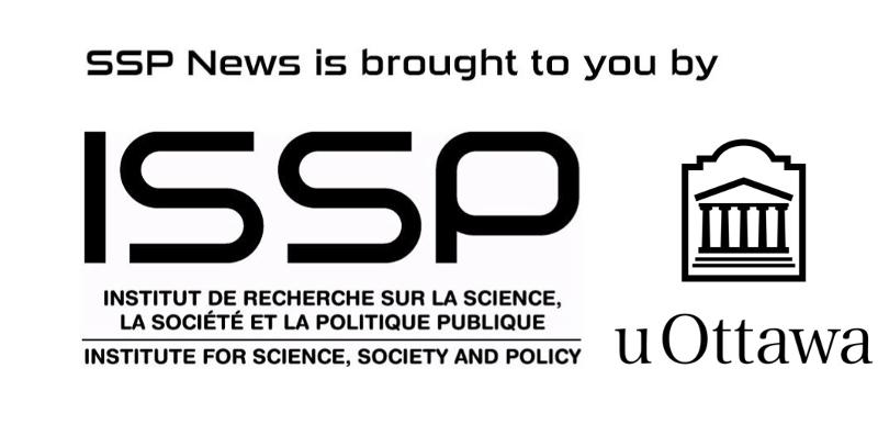 SSP news is brought to you by ISSP and uOttawa, with images of ISSP and uOttawa logos.