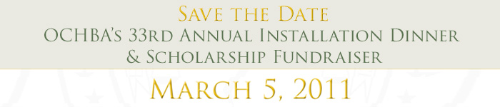 Save the Date March 5, 2010