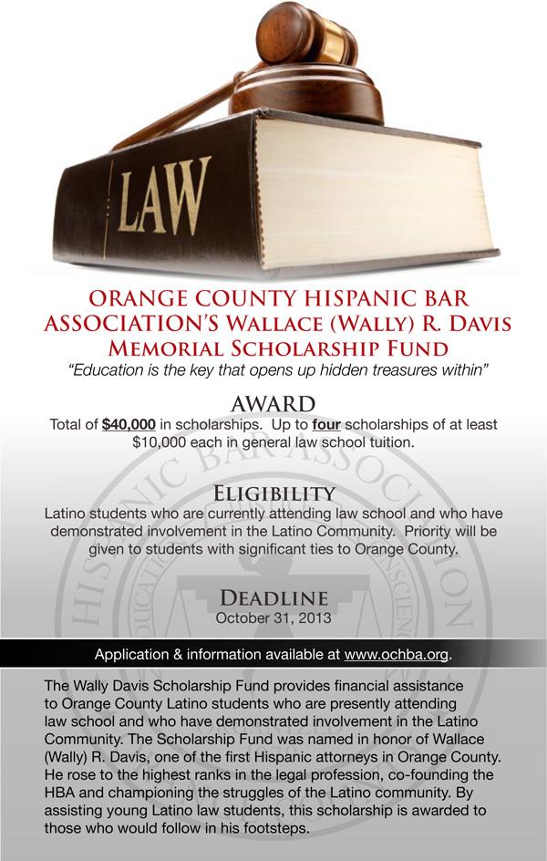 Wally Davis Scholarship