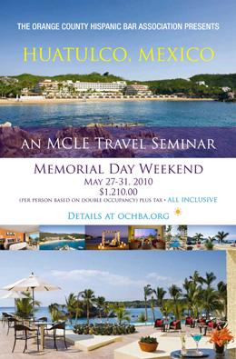 MCLE Travel Seminar