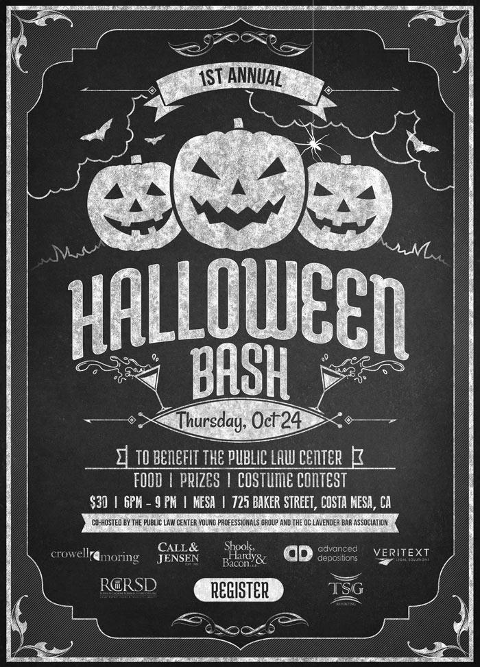 1st Annual Halloween Bash Fundraiser