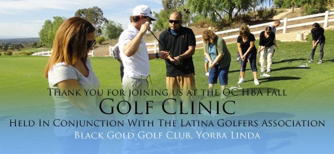 Fall Golf Clinic Photo Gallery
