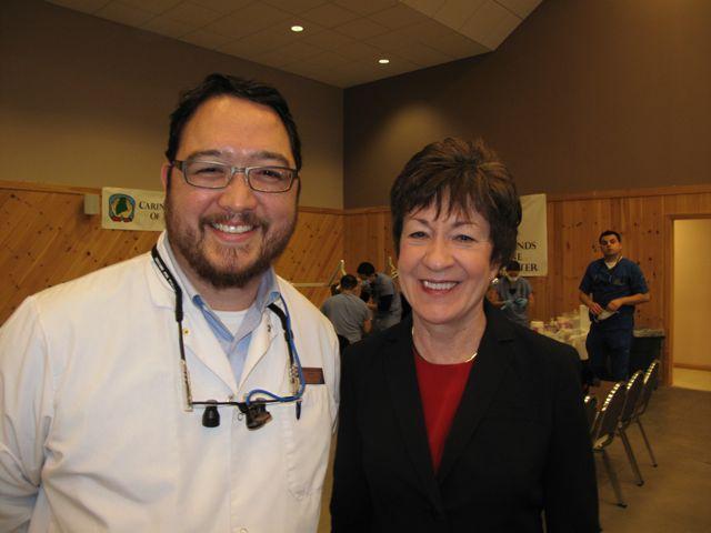 Dr Oh & Senator Collins