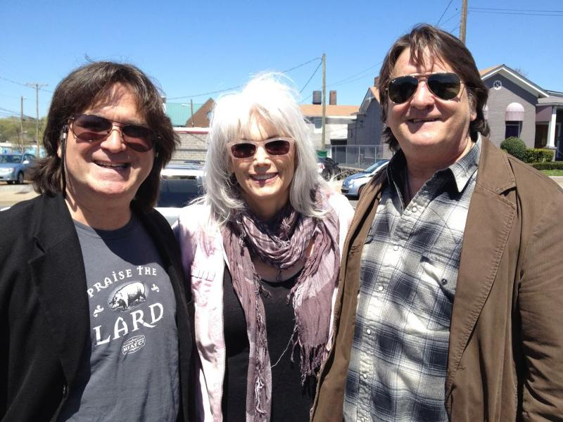 Tim, Emmylou, Danny at animal rescue event 4.13.13