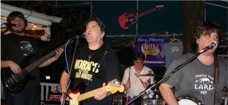 Carter Bros Band playing at Hog's Breath 1.13