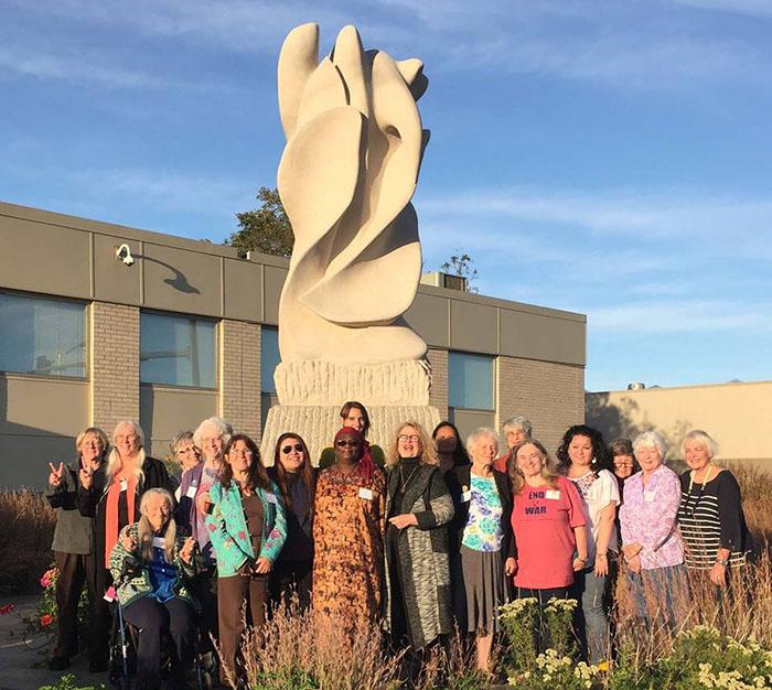 Peace Flame, Des Moines, Iowa
