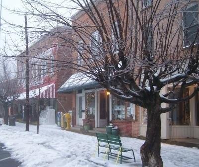 snow in saluda