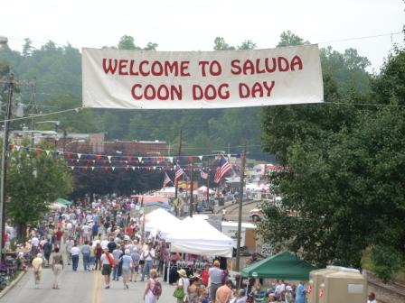 coon dog day parade