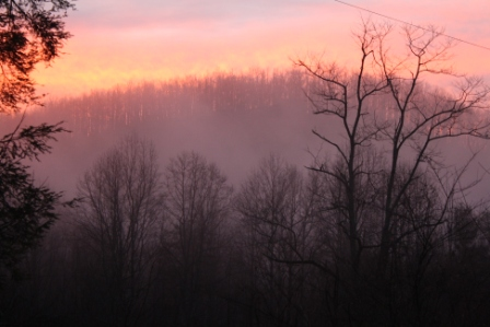 march sunrise