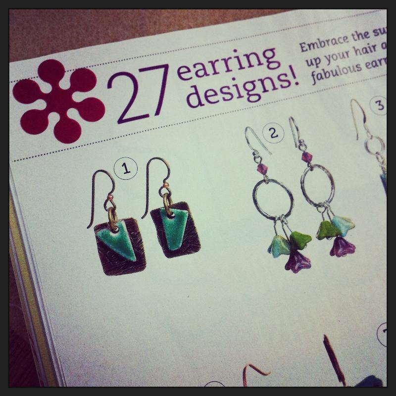 Earrings by Jill Kettler