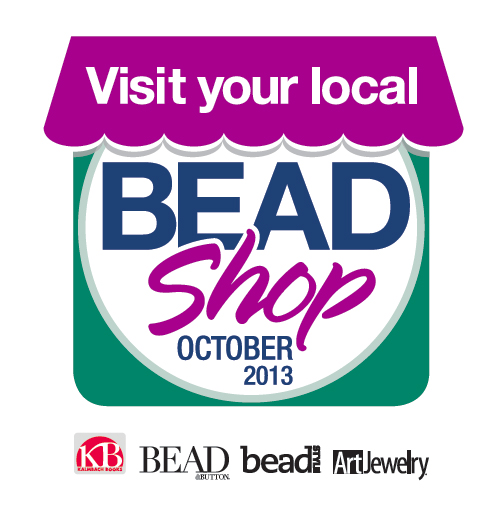 Visit Your Local Bead Shop Month Logo