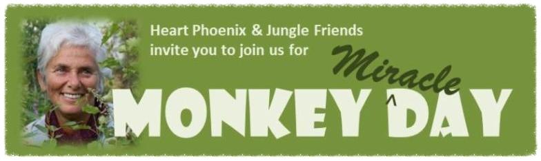 Monkey Day invitation header