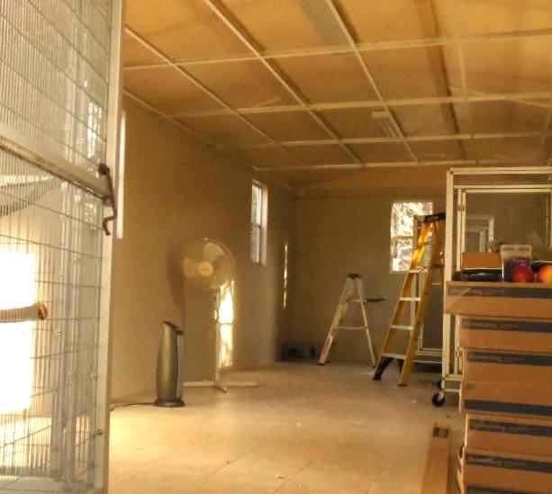 Frat house indoor