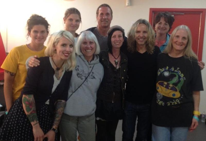 Backstage with Tommy Shaw