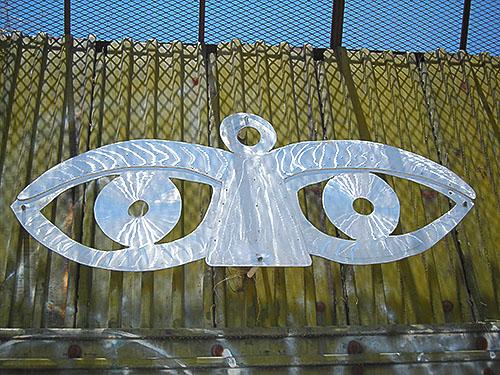Eyes on Border Fence