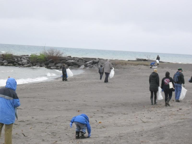 Hamlin Beach State Park Earth Day CleanUP