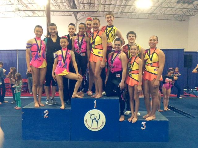 legacy elite winter classic gymnastics meet 2014