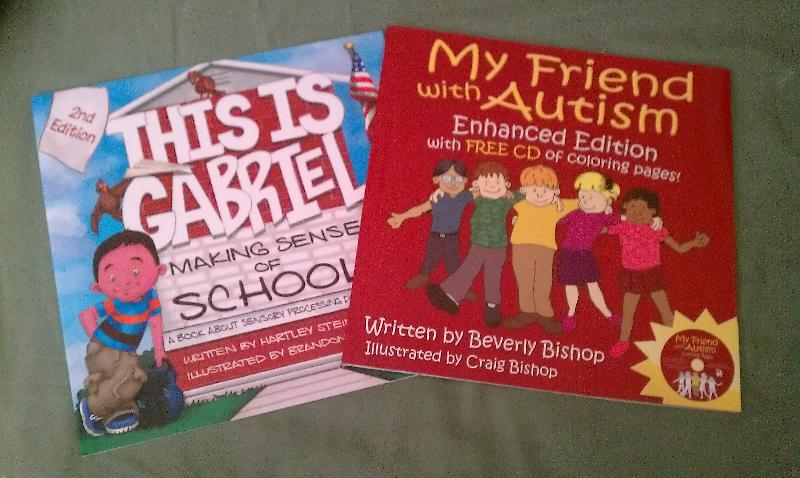 Autism Resource Books for Raffle