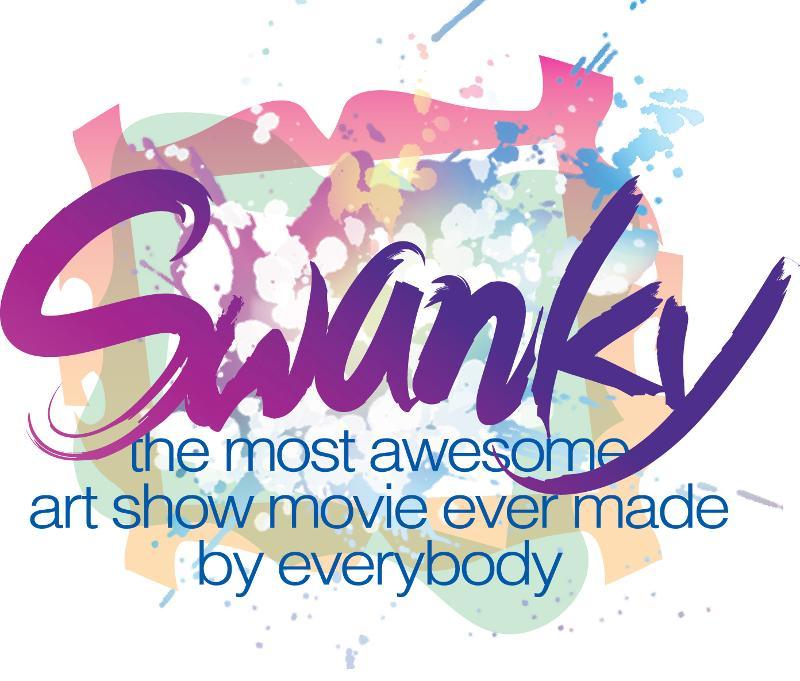 Swanky movie logo