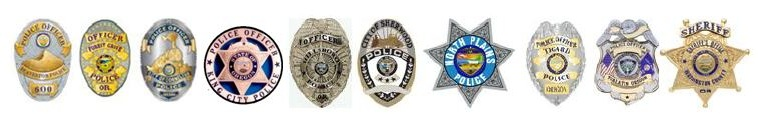 Law Enforcement Council member badges