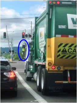 Big Truck Rear View Mirror