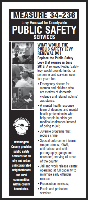 Countywide Public Safety Levy