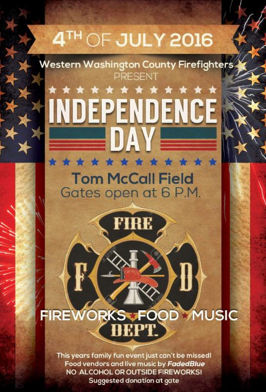 2016 FG Fireworks Display Flyer